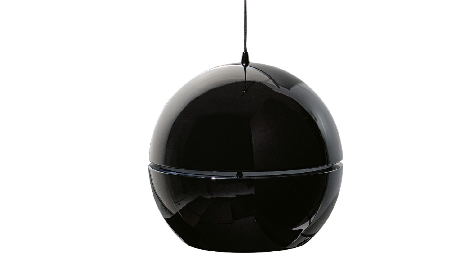Comet Hanging Small Pendant - Black