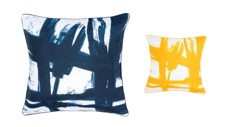 Greg Natale Paintbrush Euro Pillowcase