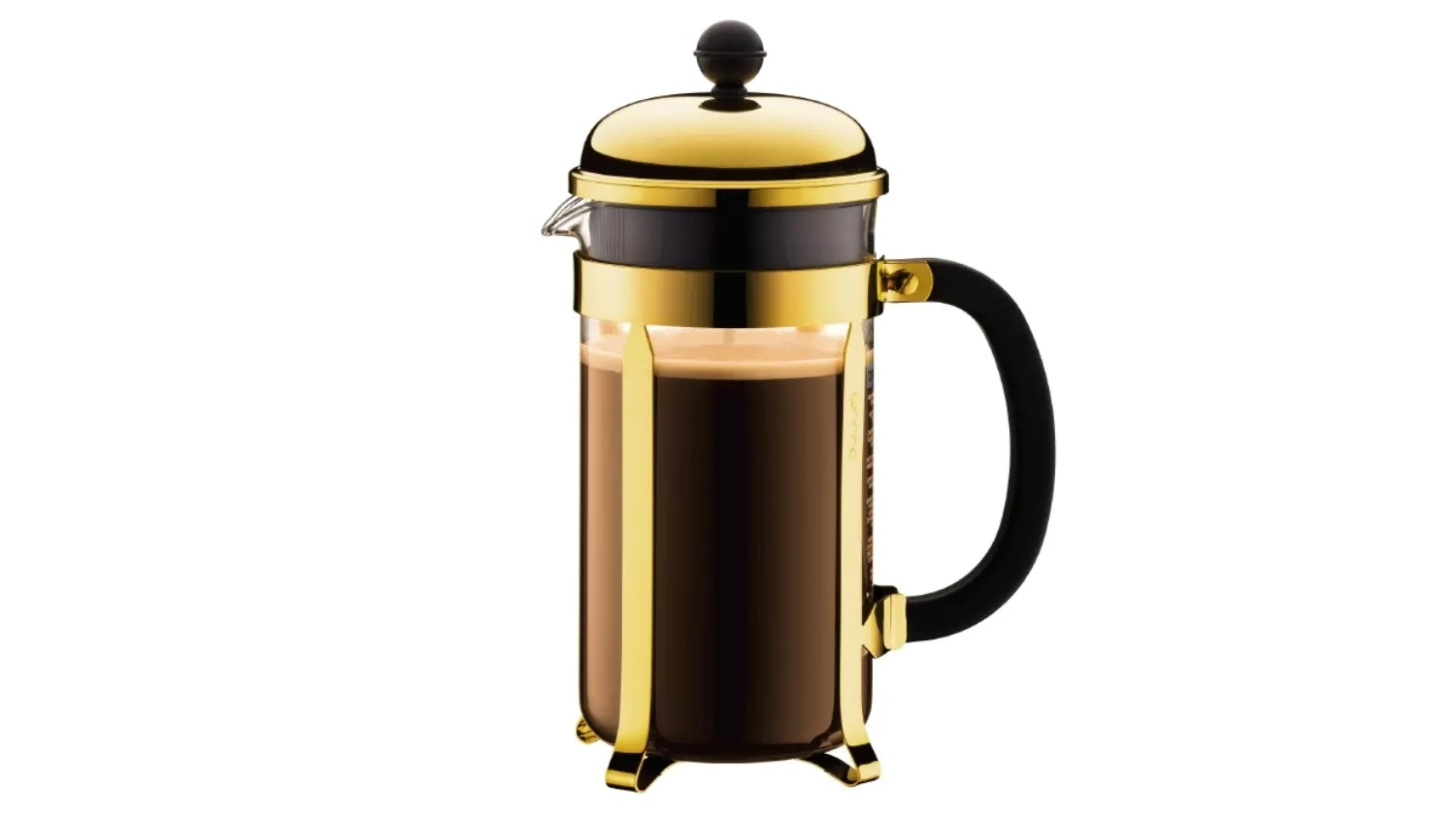 Bodum Chambord 8 Cup French Press - Gold