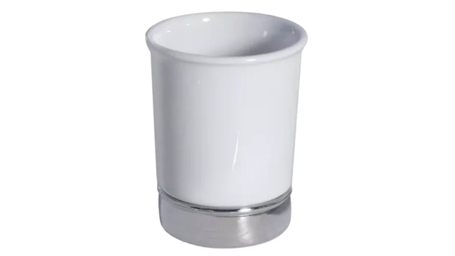 York tumbler white domayne for White bathroom tumbler