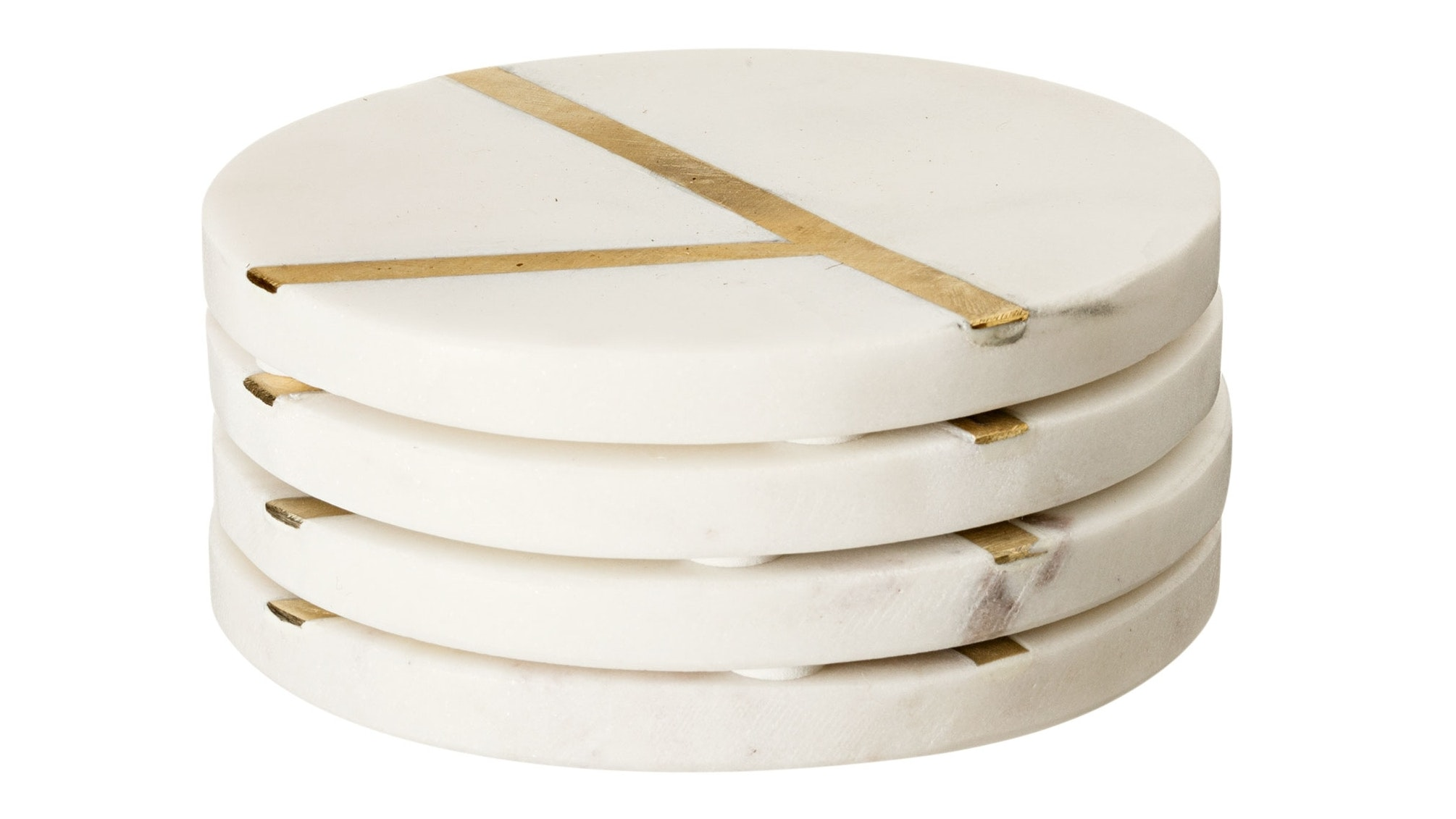 Luxe Marble Set of 4 Coasters