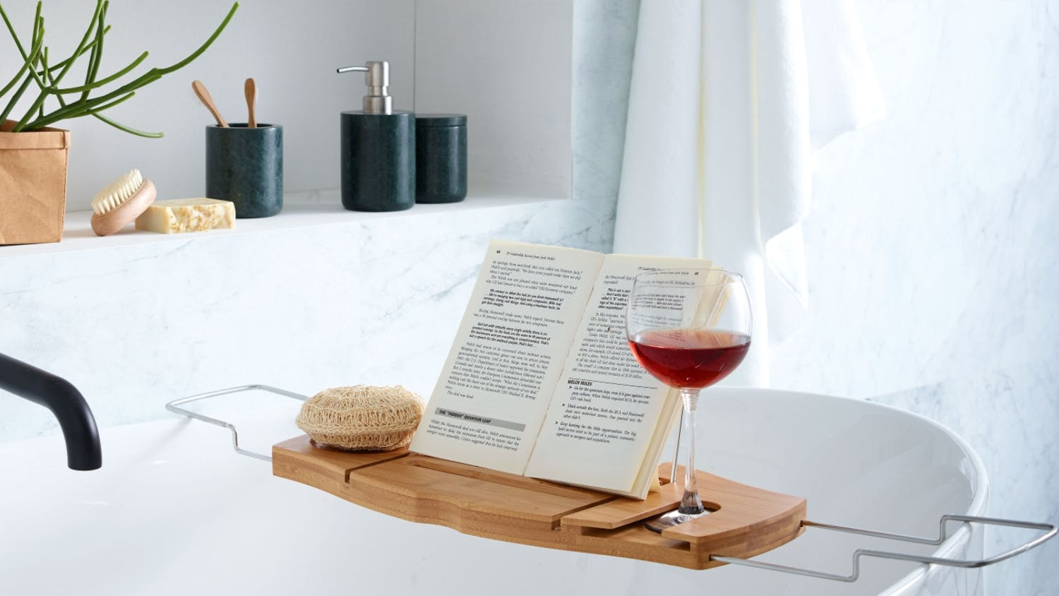 Aquala Bath Caddy | Domayne