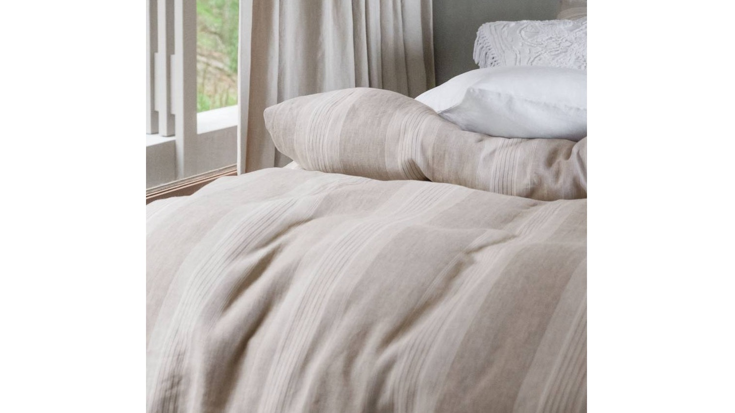 Linen House Millet Quilt Cover Set - Linen