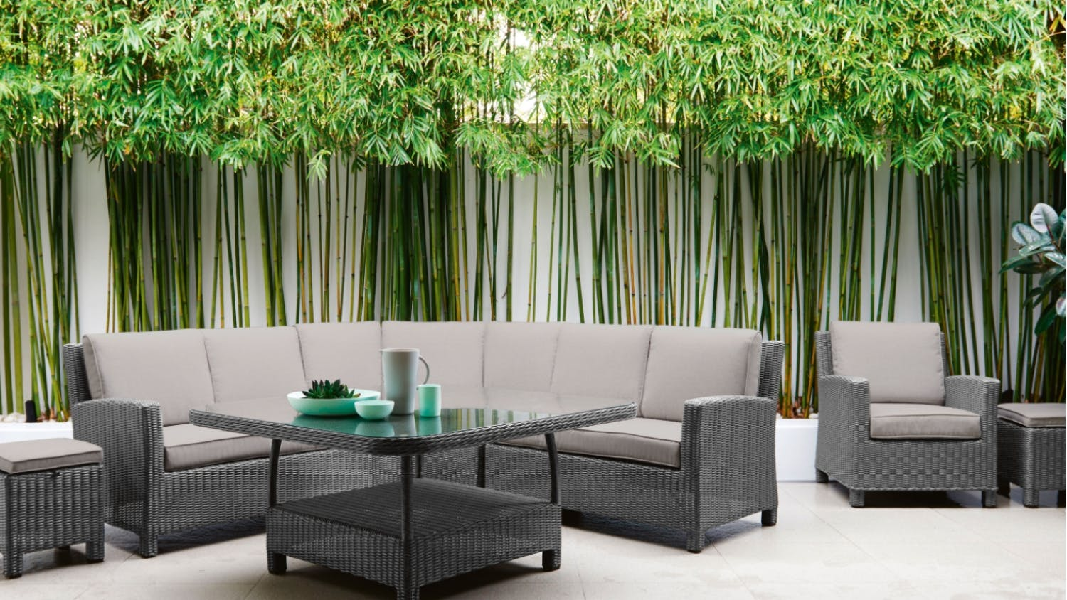 dundee 7 piece outdoor modular lounge package alexandria balcony set high quality patio furniture