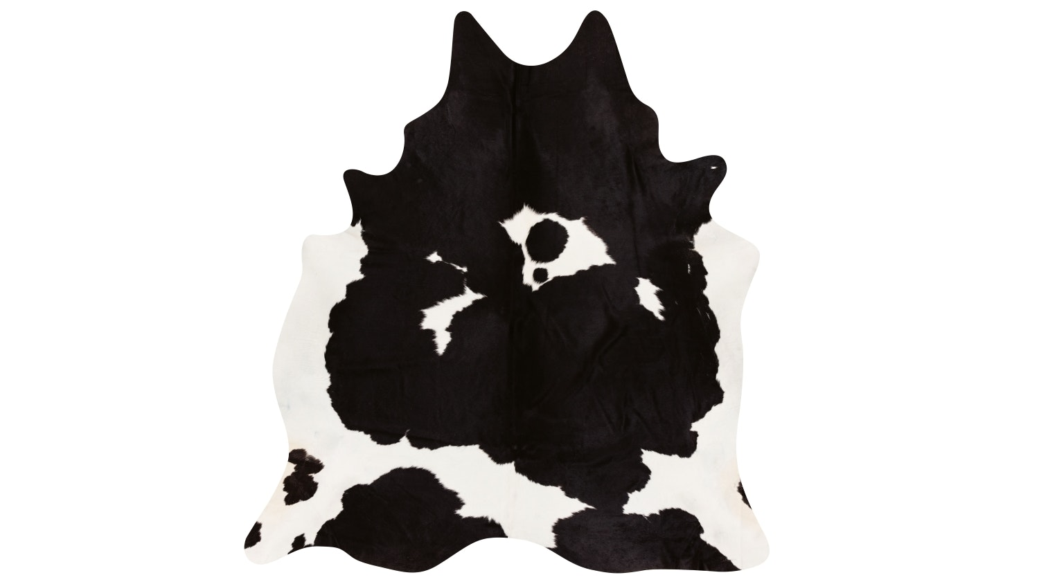 Cowhide Rug - Black & White
