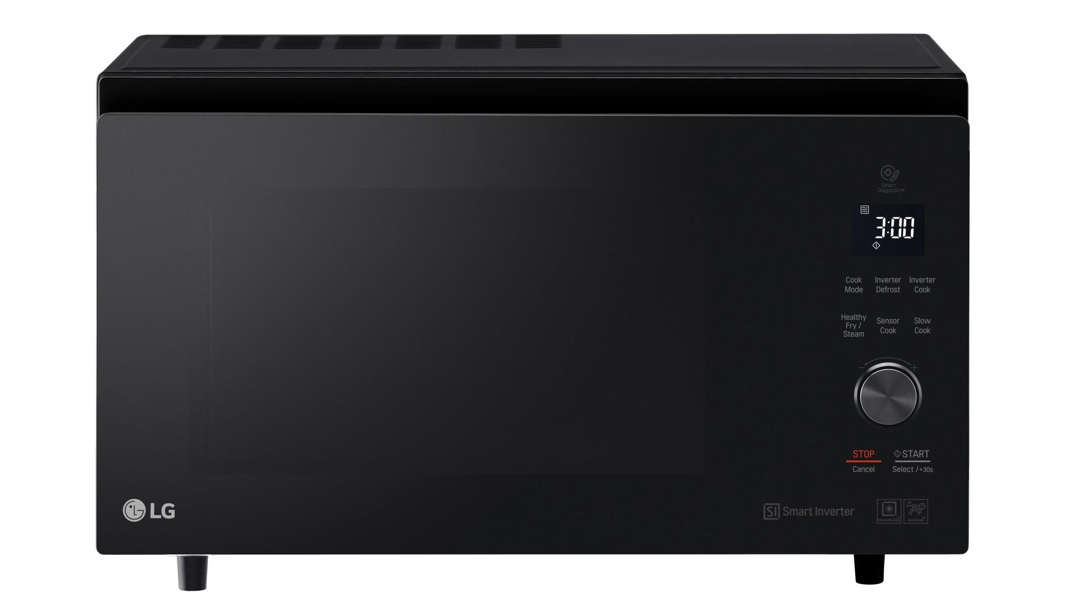 Lg Neochef 39l Smart Inverter Convection Microwave Oven Black