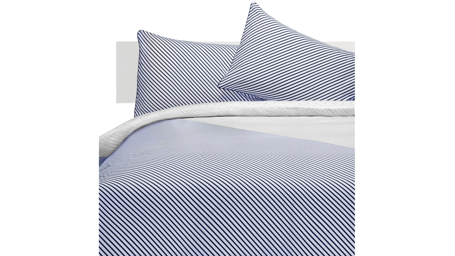 Linen House Titus Blue Quilt Cover Set