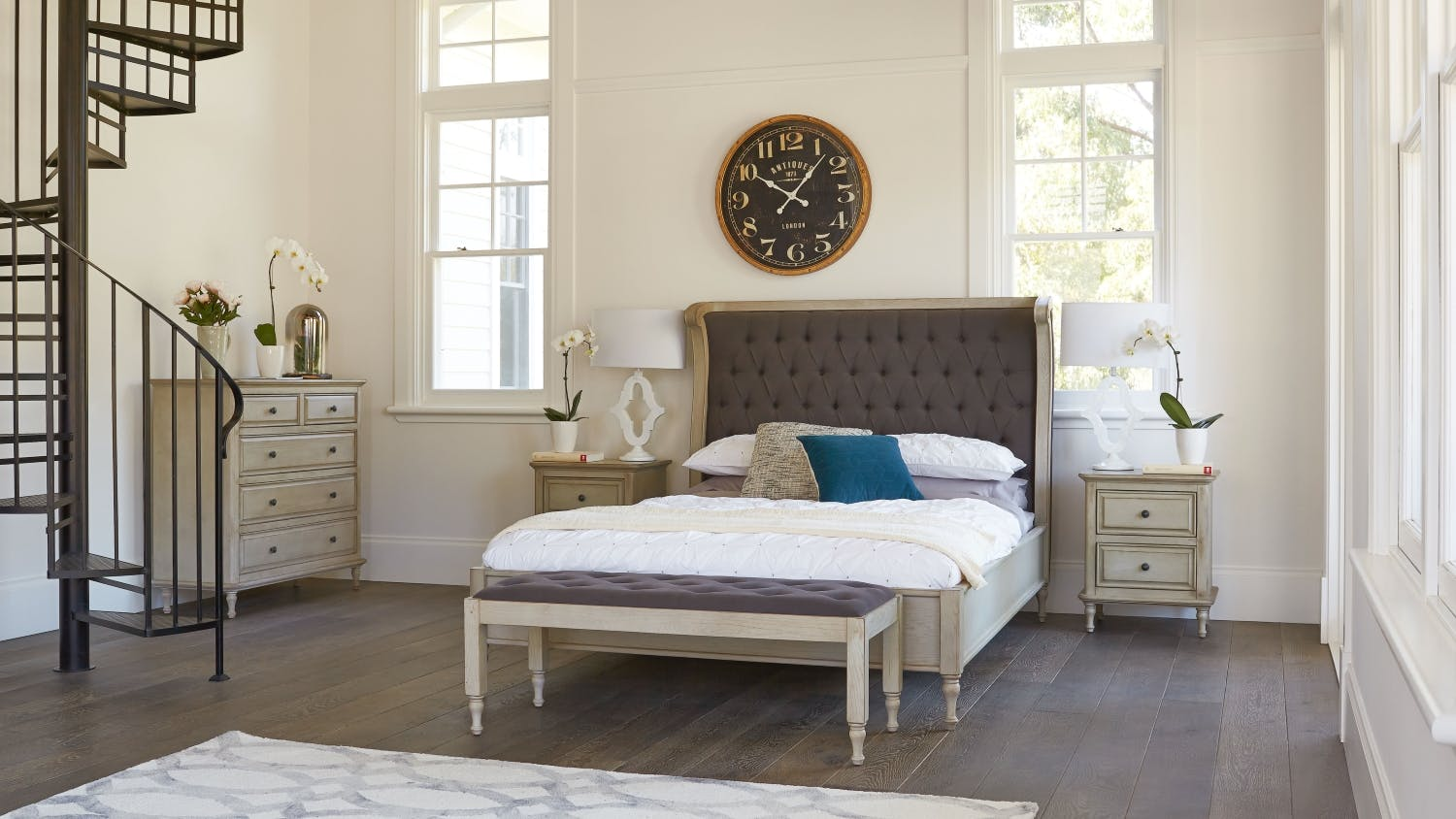 Marseille Bedroom Furniture Marseille Bed Frame Domayne
