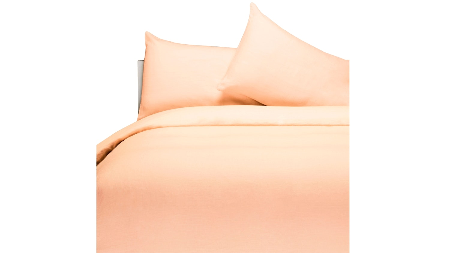 Linen House Nimes Quilt Cover Set - Peach