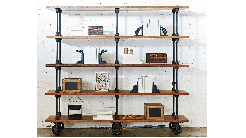 Sheffield 5 Tier Bookcase