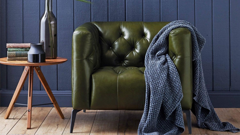 Heston Leather Armchair