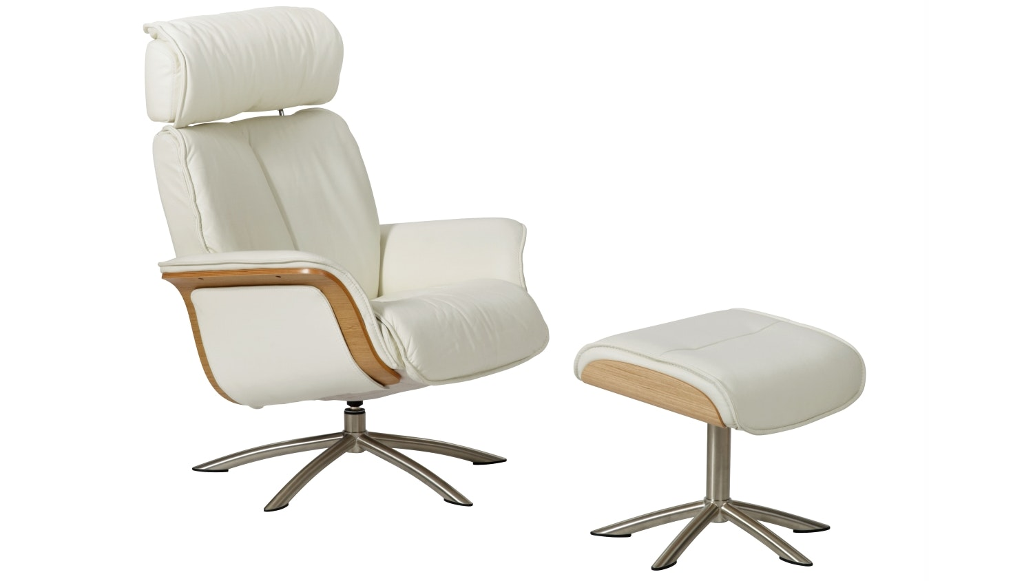 Space 55 Reclining Chair Amp Ottoman Domayne