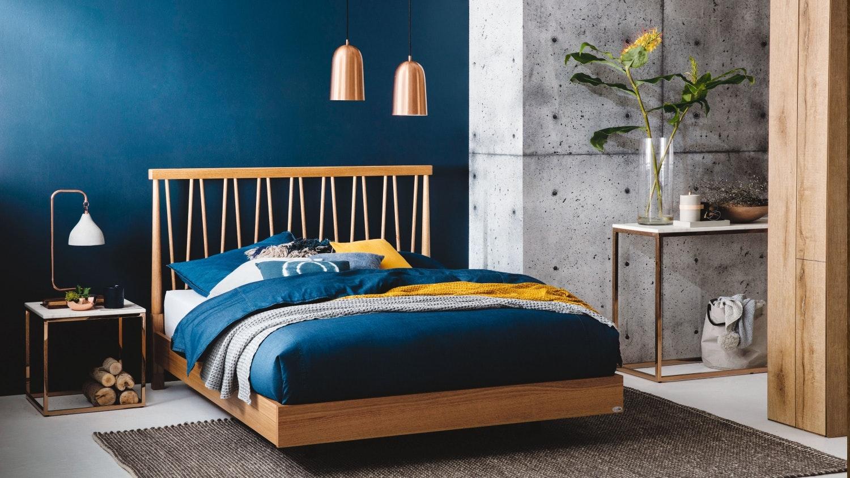 spindle bed frame | domayne