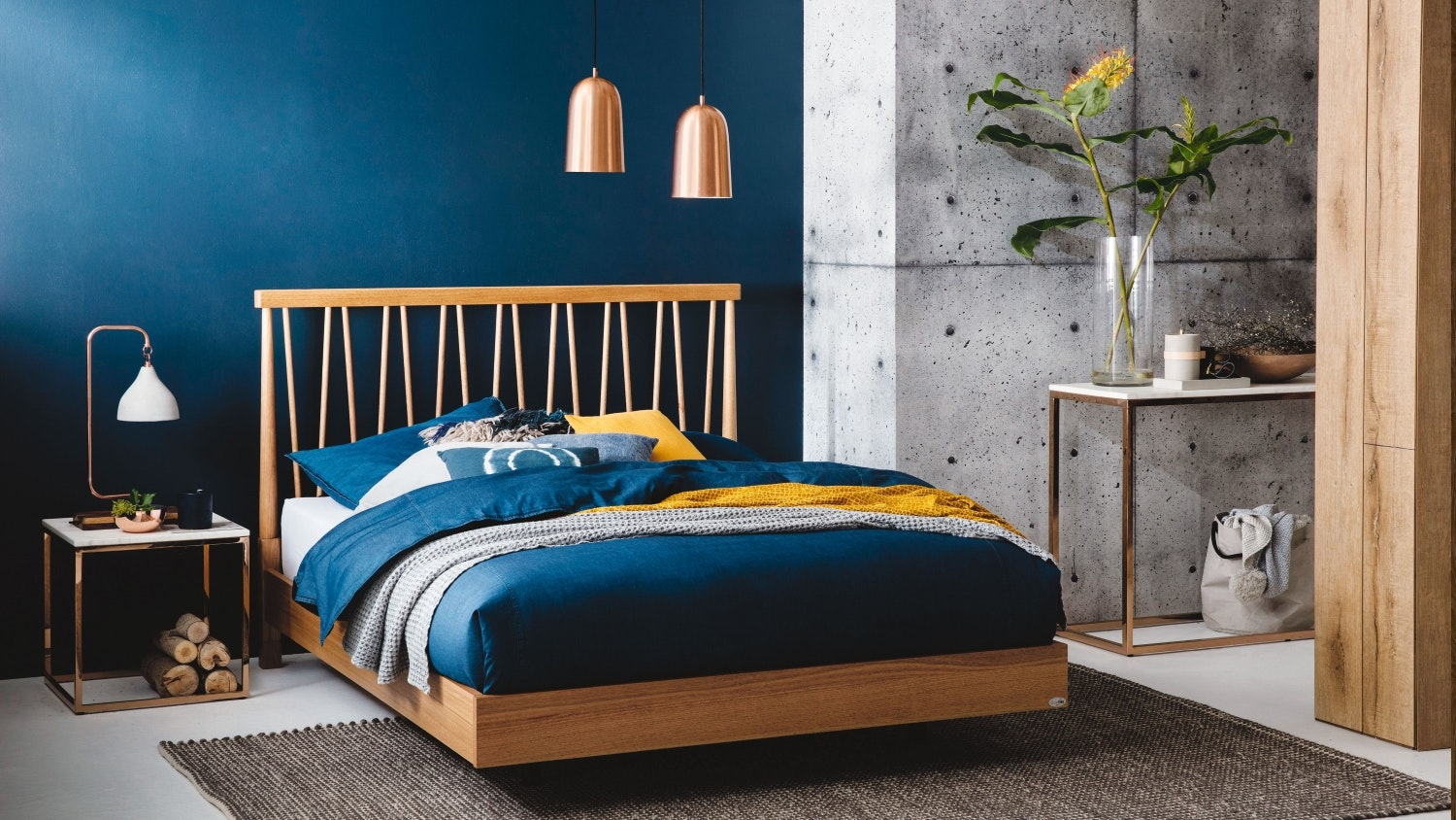 Spindle Bed Frame