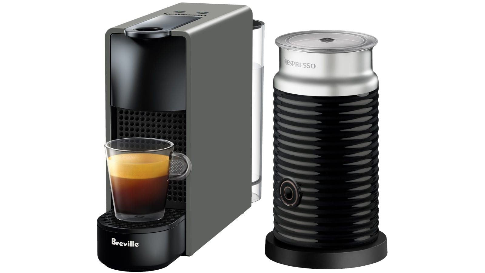 Nespresso Frother Nespresso Essenza Mini Capsule Coffee Machine With Milk Frother