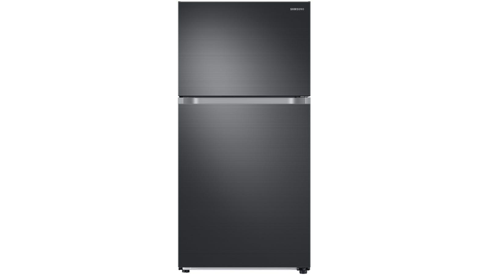 Samsung 628L Top Mount Fridge - Black Stainless Steel   Domayne