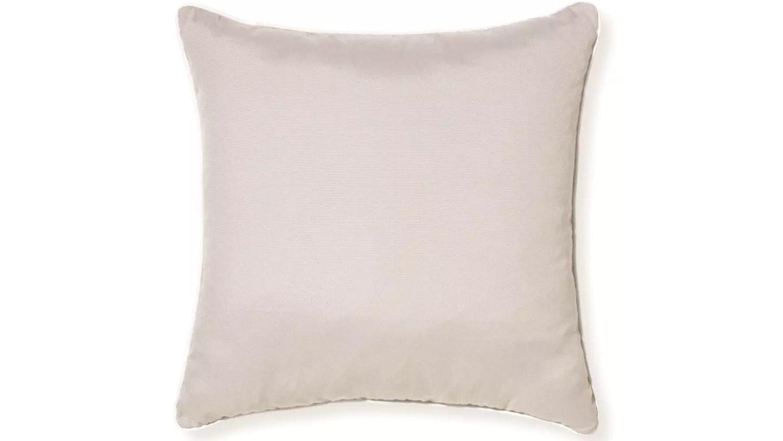 Riviera Plain Cushion Grey