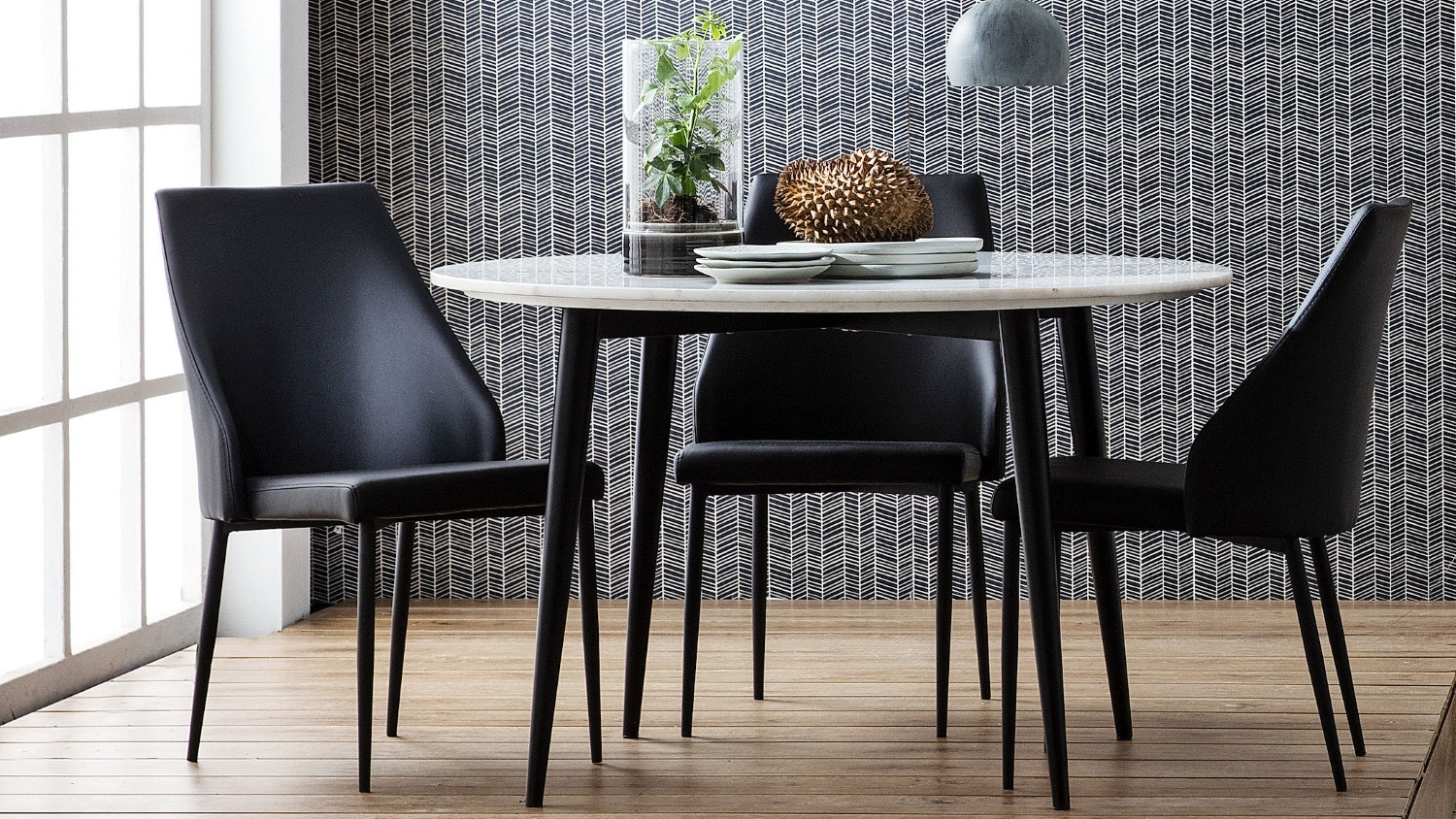 Metz Dining Chair - Black