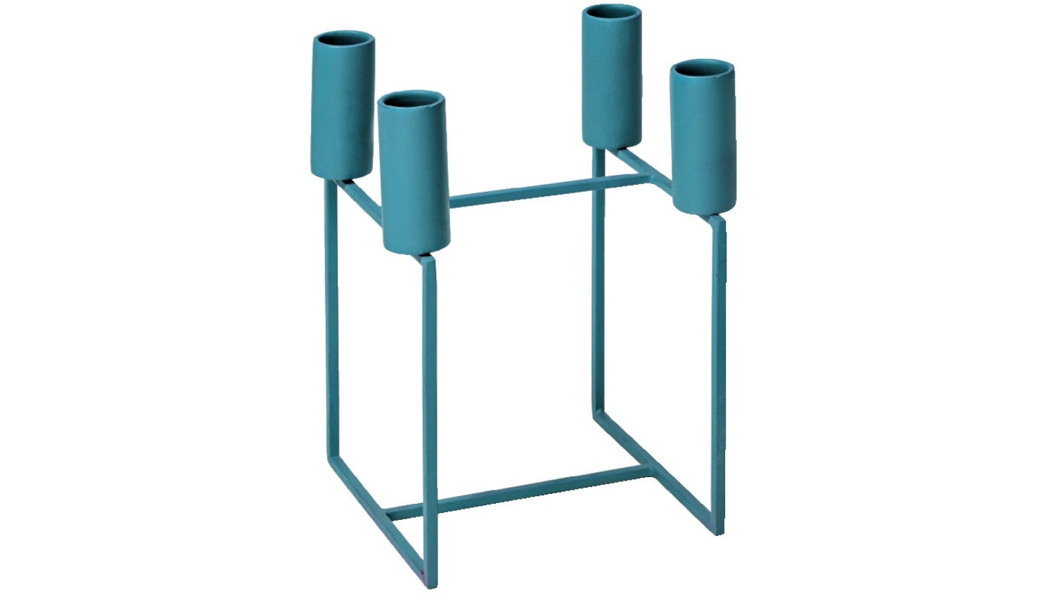 Contempo Candle Stand - Petrol Blue
