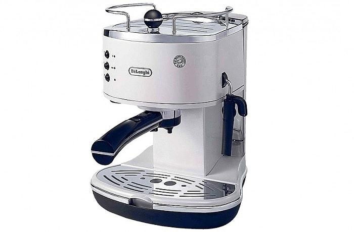 Delonghi ECO310 Icona Pump Espresso Machine - White