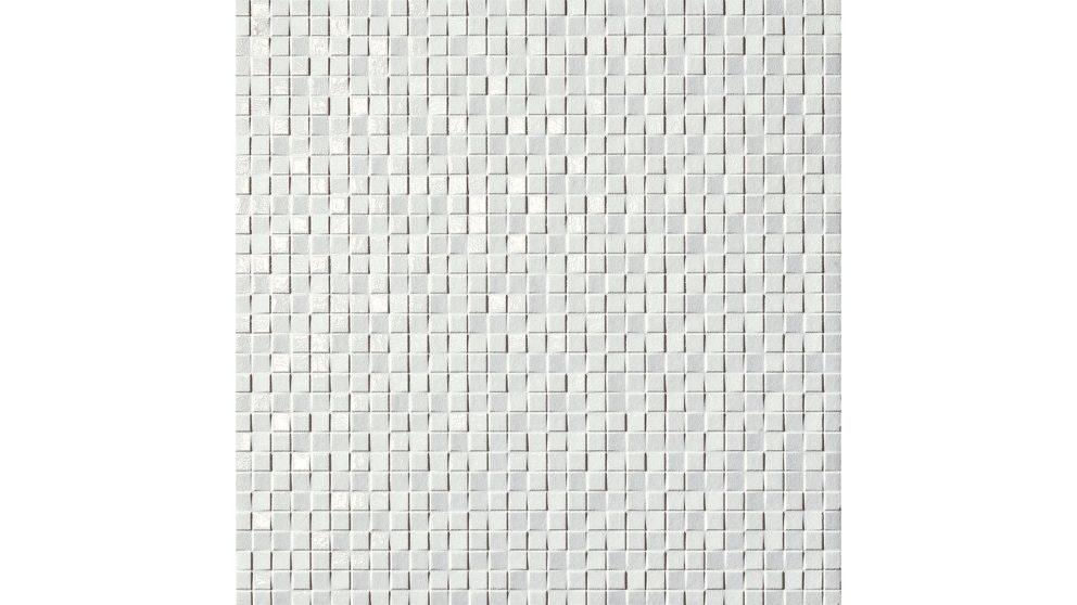 Incanto Trama 330x330mm Bianco Glazed Porcelain Tile