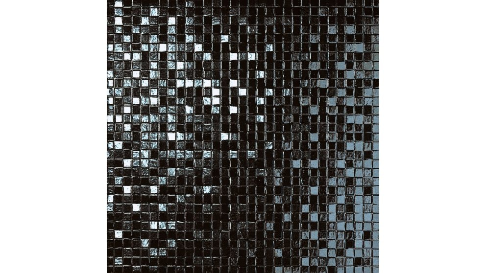 Incanto Trama 330x330mm Nero Glazed Porcelain Tile