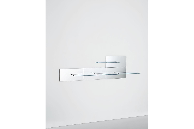 Fixtrik Wall Mounted Shelves by Marc Krusin, Kensaku Oshiro for Glas Italia