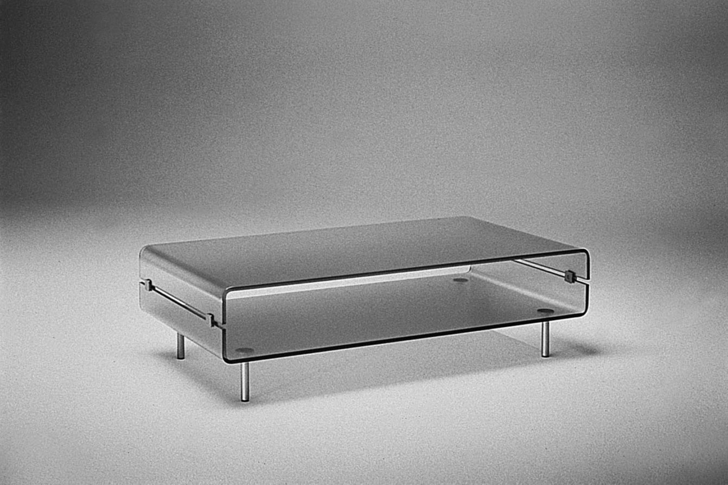 C&C Coffee Table by Christophe Pillet for Fiam Italia