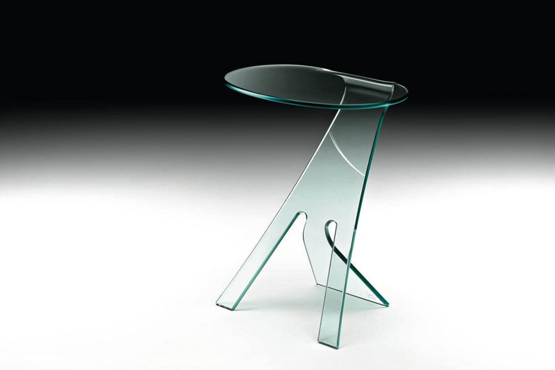 Grillo Bedside Table by Vittorio Livi for Fiam Italia