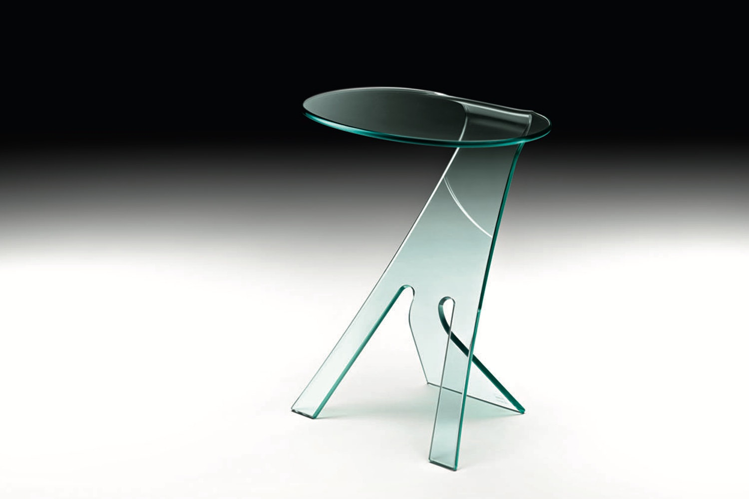 Grillo Bedside Table by Vittorio Livi for Fiam Italia