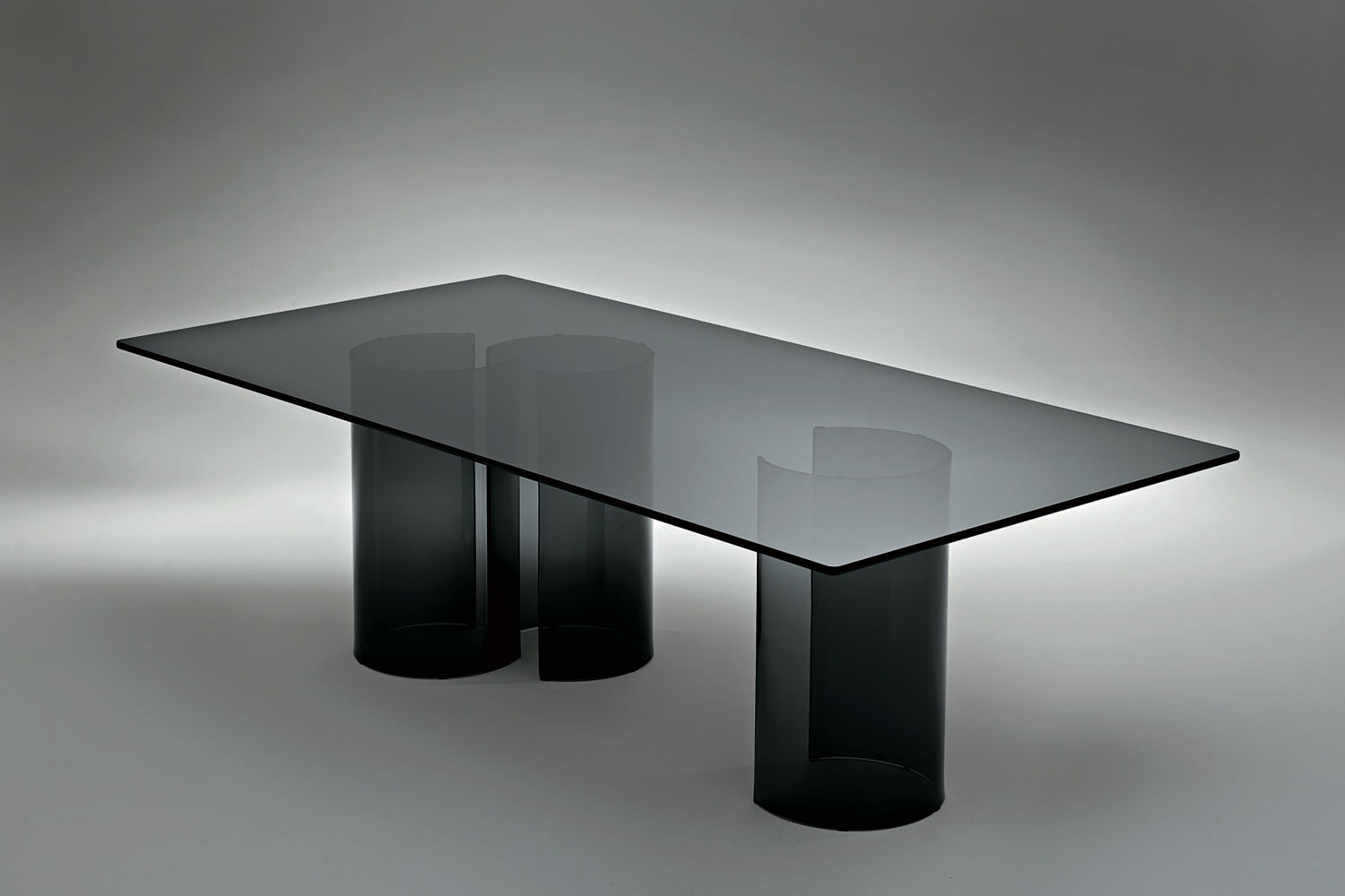 Luxor Bistrot Table by Rodolfo Dordoni for Fiam Italia
