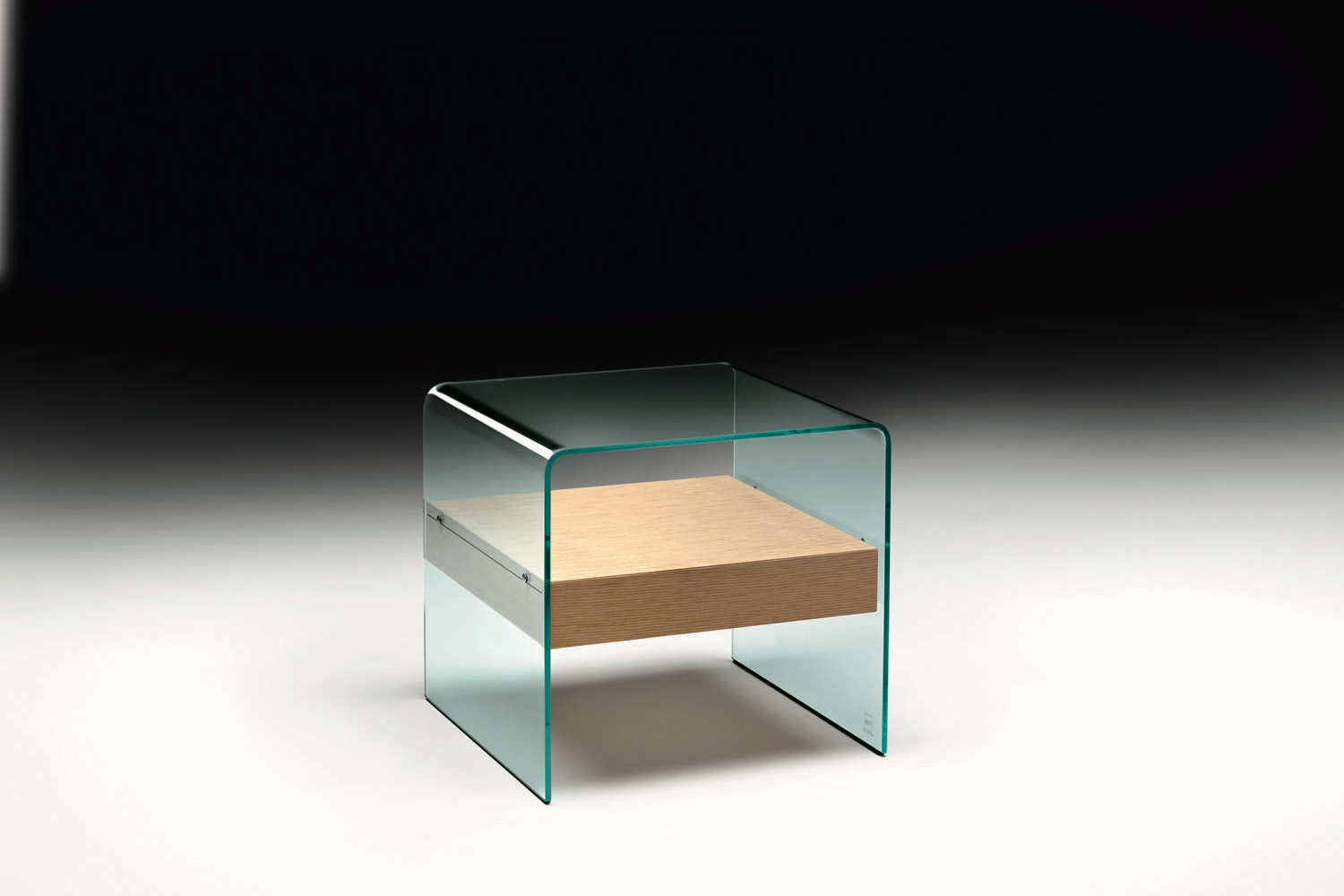 Rialto Night Bedside Table by CRS Fiam for Fiam Italia