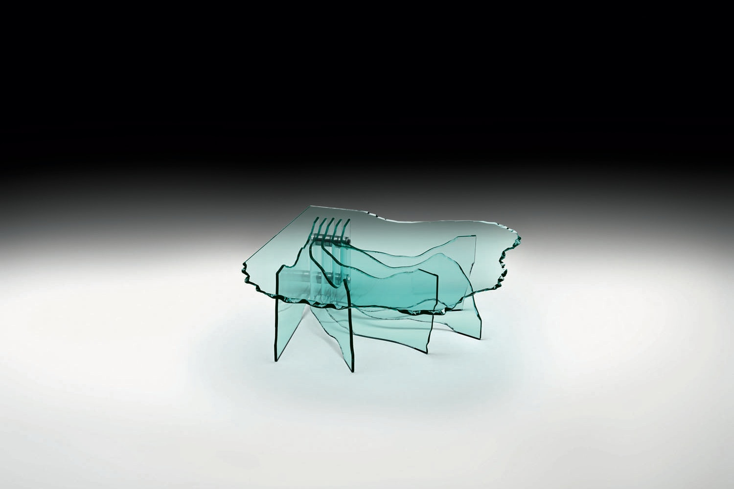 Shell Coffee Table by Danny Lane for Fiam Italia