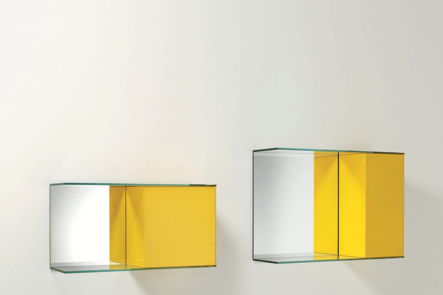 Float Wall Storage Unit by Patrick Norguet for Glas Italia