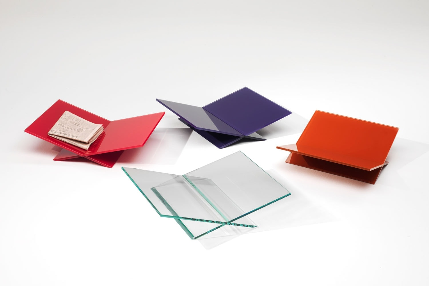 Tutti Frutti Magazine Holder by Piero Lissoni for Glas Italia