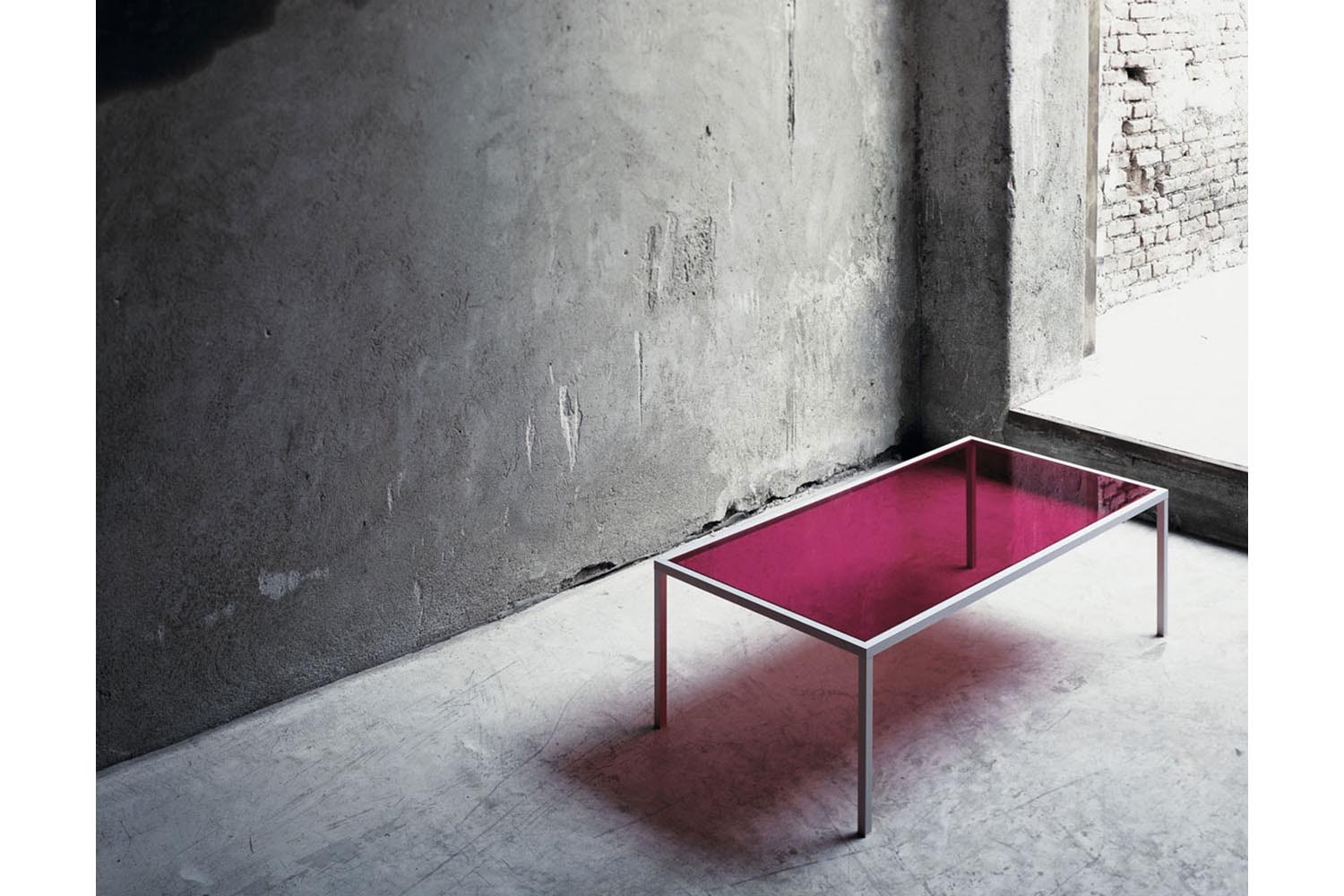 Go On Evolution/20 Coffee Table by Nanda Vigo for Glas Italia