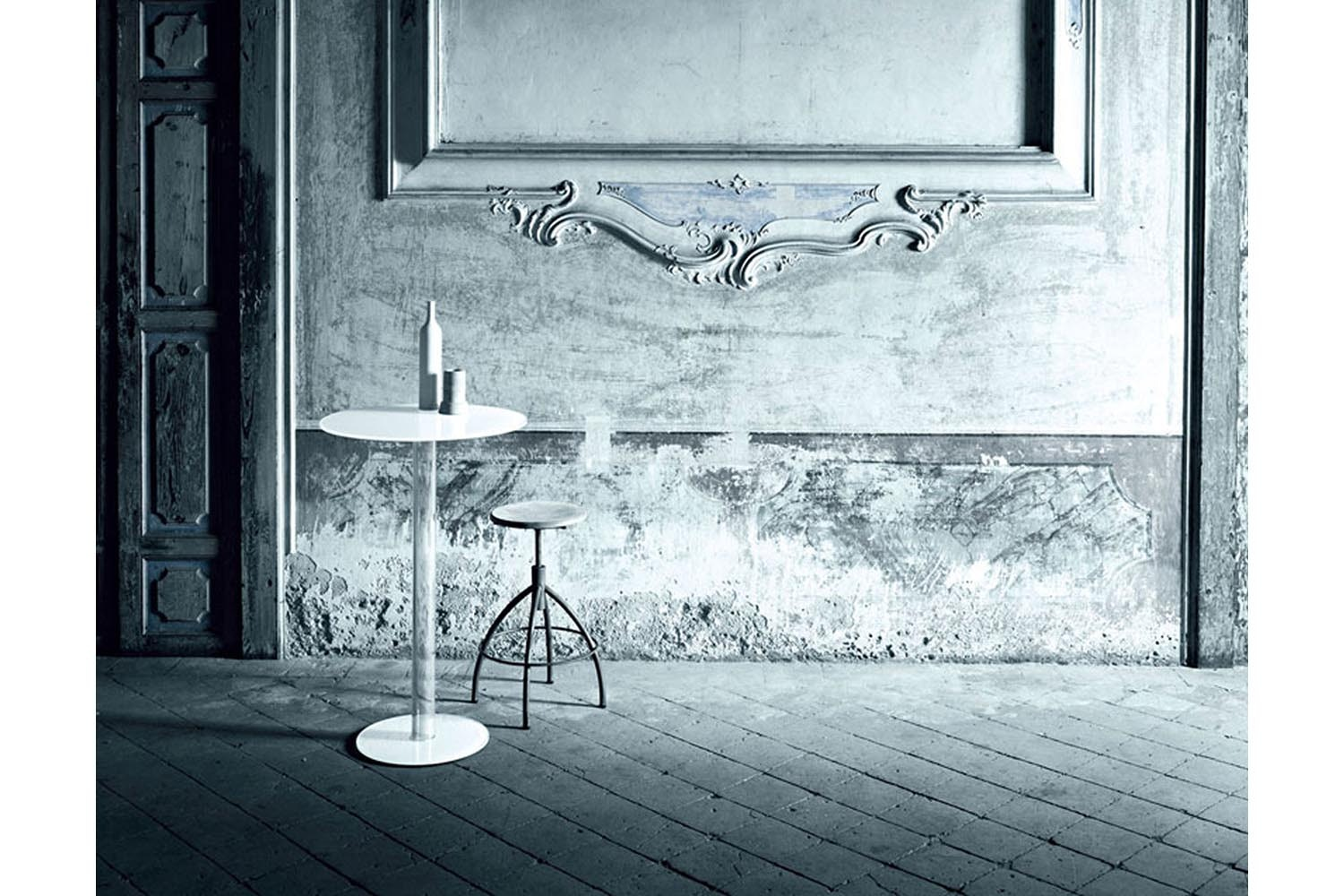 Hub Cocktail High Table by Piero Lissoni for Glas Italia