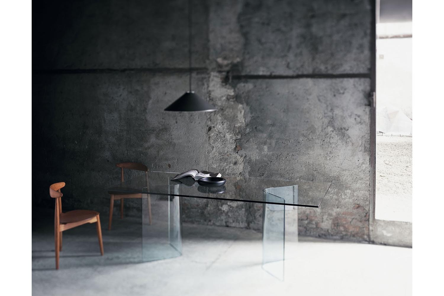 Lindos Alto Table by Studio AE for Glas Italia