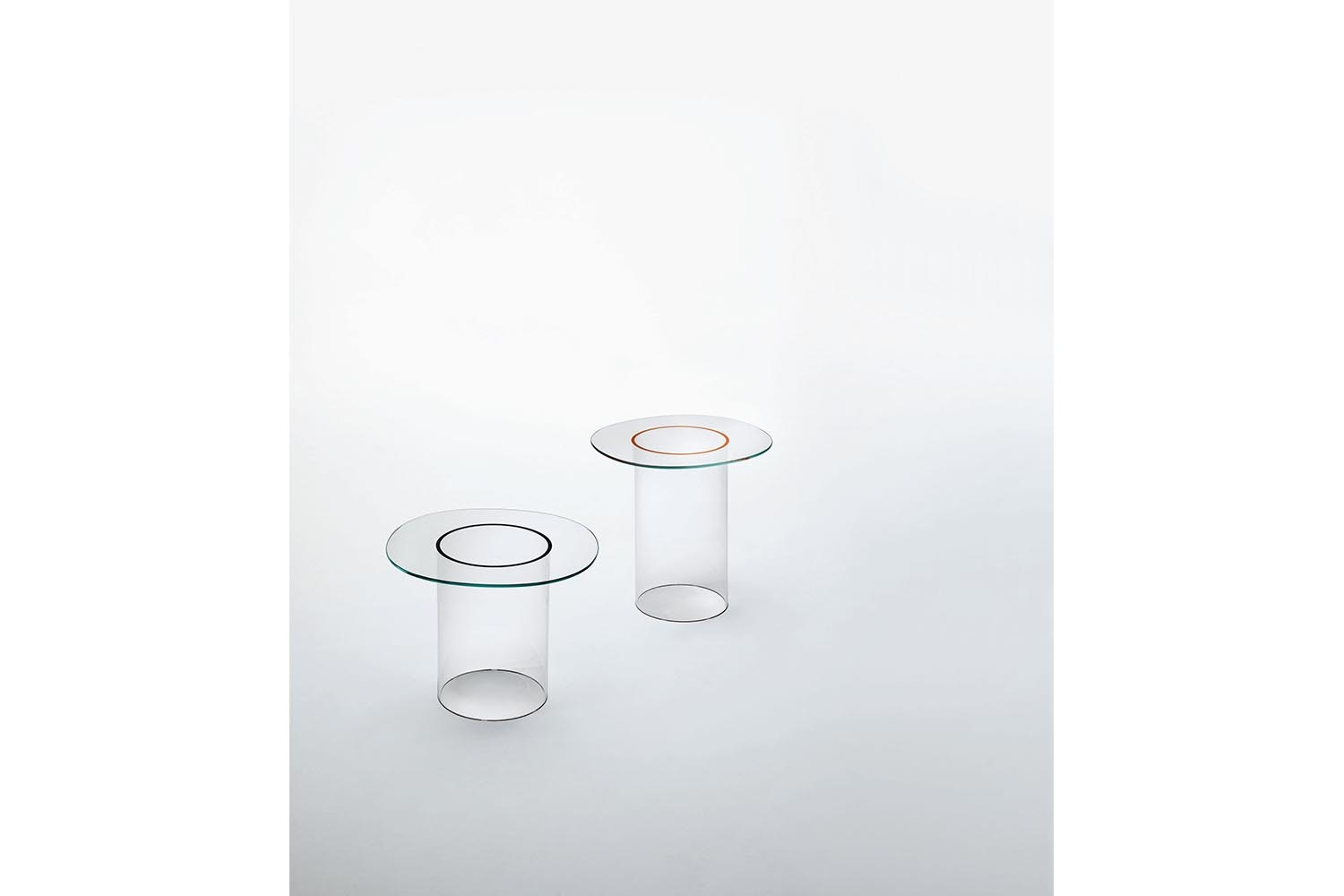 Roound Side Table by Victor Carrasco for Glas Italia