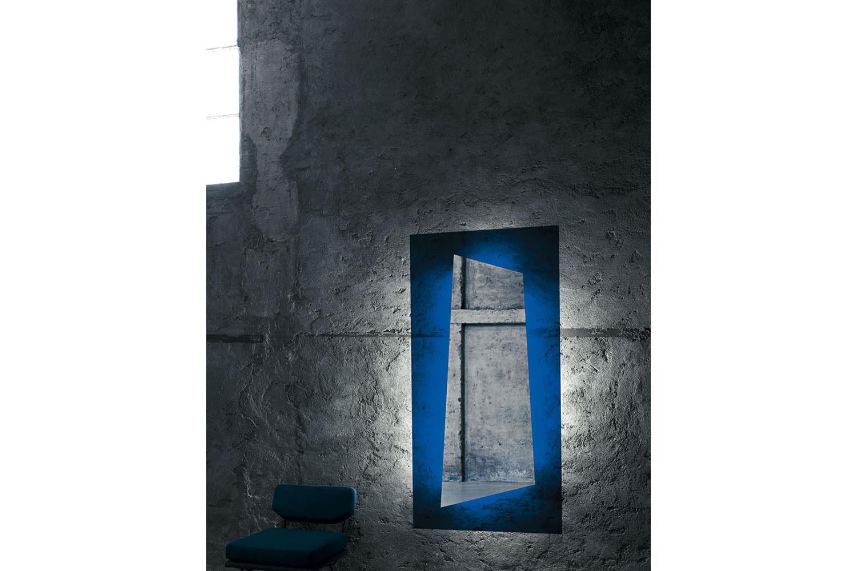 Rainbow Mirror by Nanda Vigo for Glas Italia