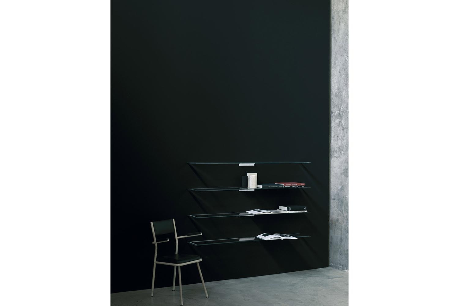 Shine Wall Mounted Shelves by Lorenzo Arosio for Glas Italia