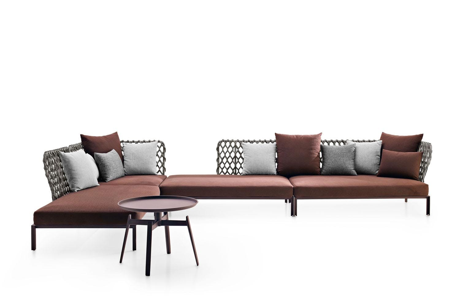ravel sofa by patricia urquiola for b b italia space. Black Bedroom Furniture Sets. Home Design Ideas