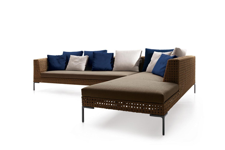 Charles Outdoor Sofa by Antonio Citterio for B&B Italia