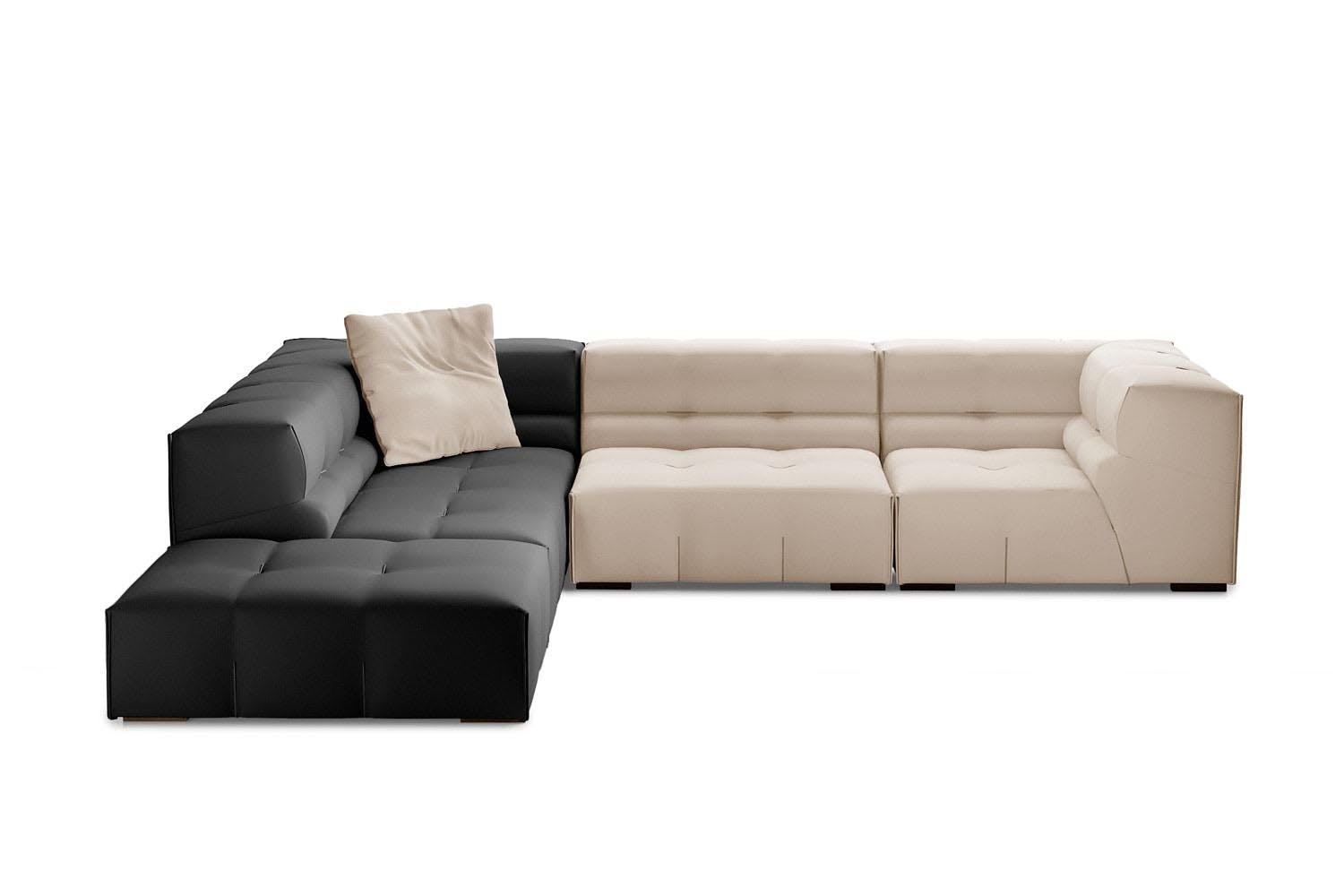 tufty too sofa by patricia urquiola for b b italia space. Black Bedroom Furniture Sets. Home Design Ideas