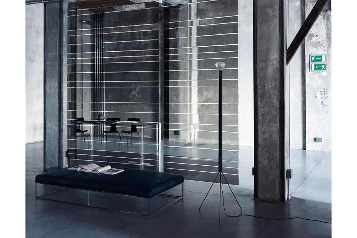Transmit Modular Screens by Marc Krusin for Glas Italia