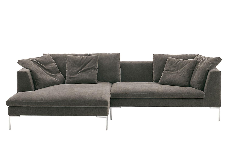 Charles large sofa by antonio citterio for b b italia for B b sofa