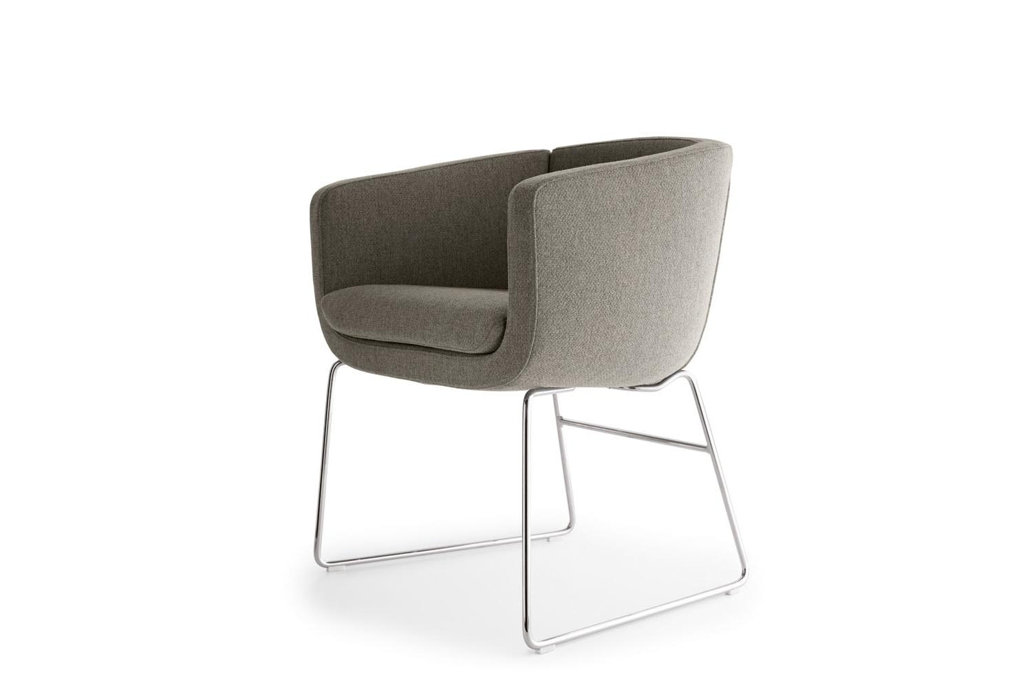 Tulip Sixty Armchair by Jeffrey Bernett for B&B Italia Project