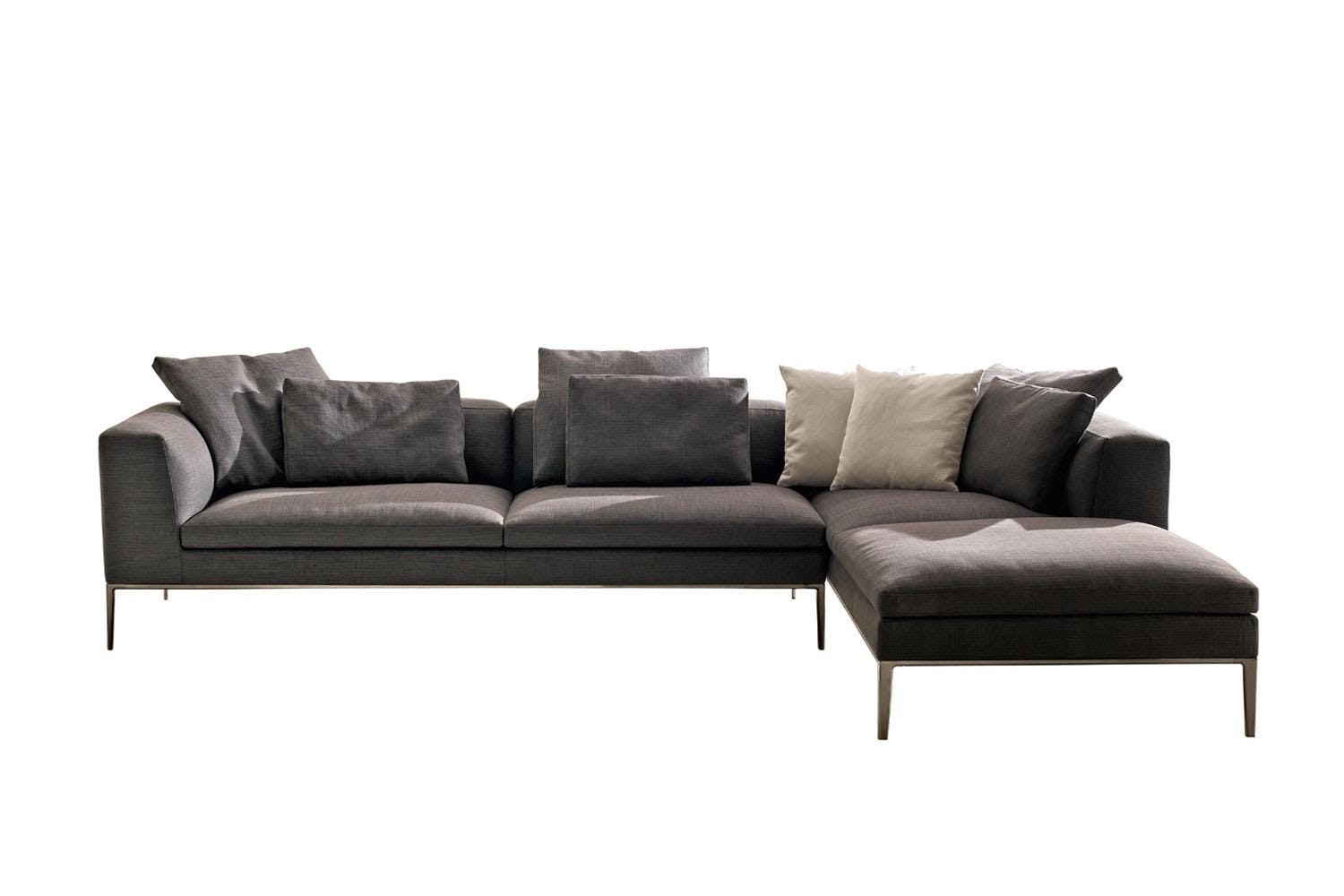 michel sofa by antonio citterio for b b italia space. Black Bedroom Furniture Sets. Home Design Ideas