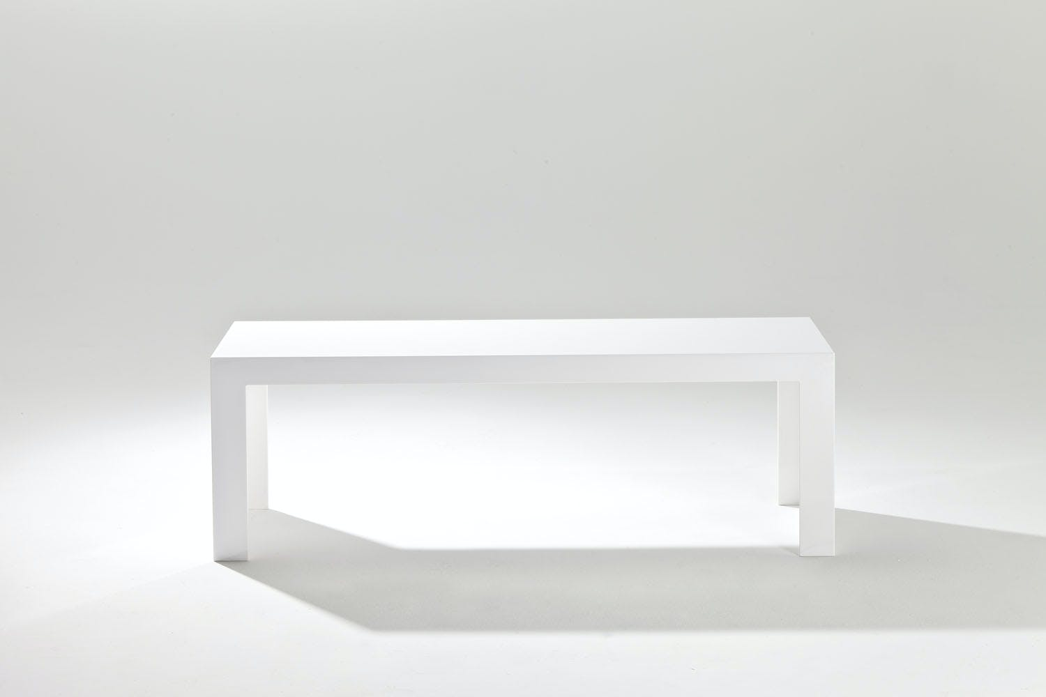 Invisible Side Table Low By Tokujin Yoshioka For Kartell Space - Invisible coffee table