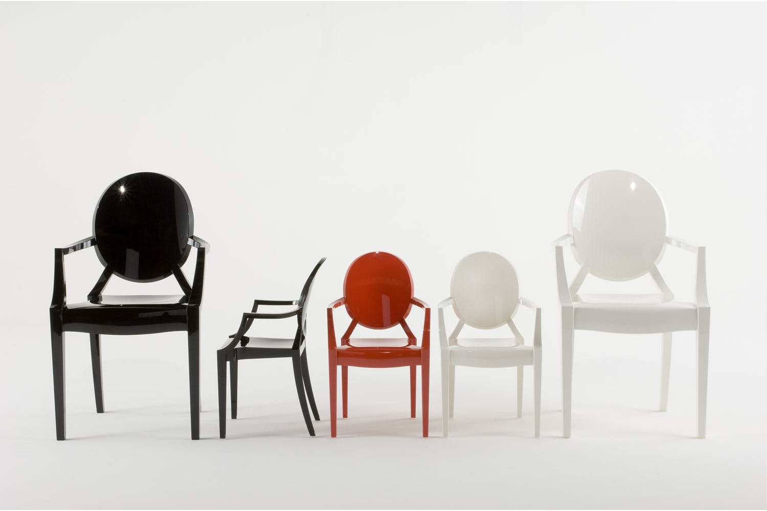 Lou Lou Ghost Chair with Arms by Philippe Starck for Kartell | Space ...